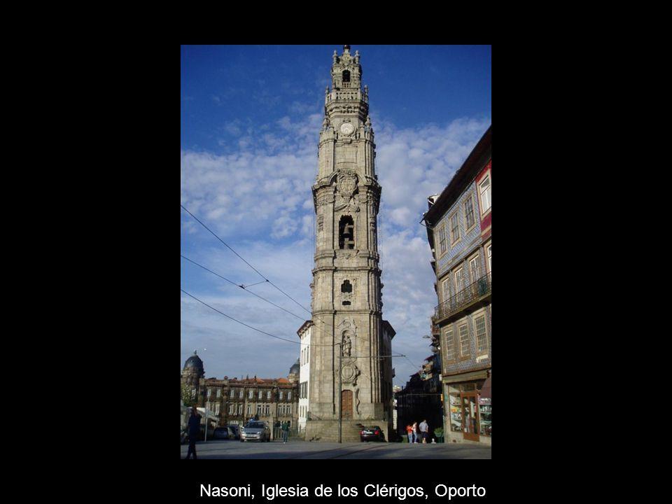 Nasoni, Iglesia de los Clérigos, Oporto