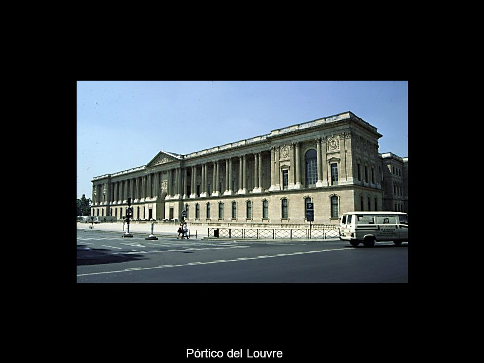 El palacio real Versalles, un modelo para Europa Precedentes –Palacio de Luxemburgo, Brosse María de Medici –Palais Royal, Lemercier Cardenal Richeliue –Vaux le Vicomte, Le Vau Nicolás Fouquet