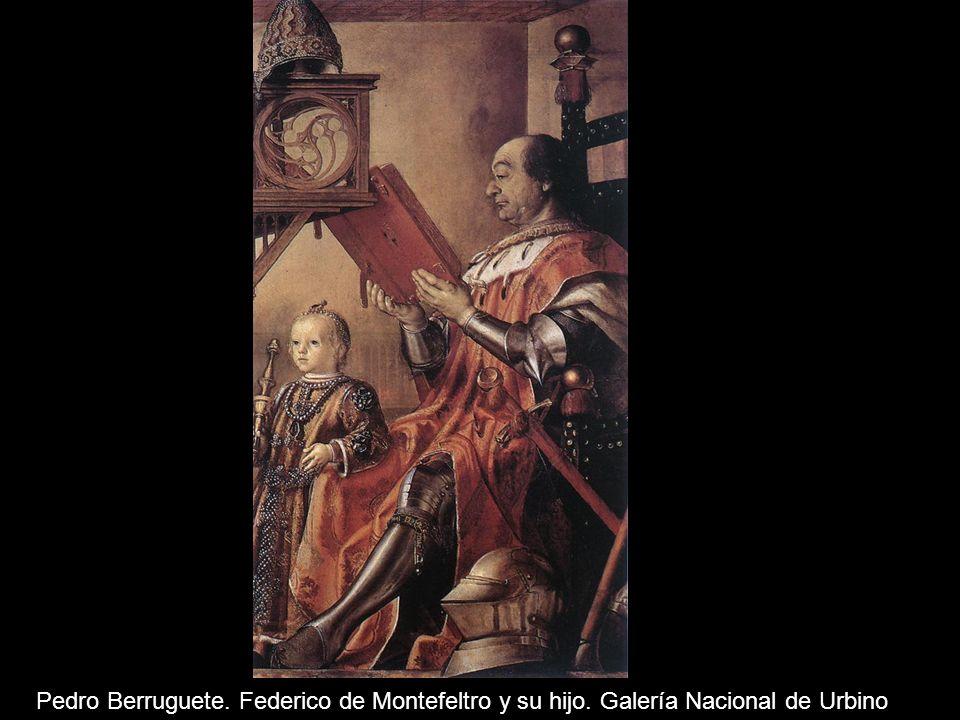 Alejo Fernández. Virgen de los navegantes, óleo sobre tabla, c. 1531