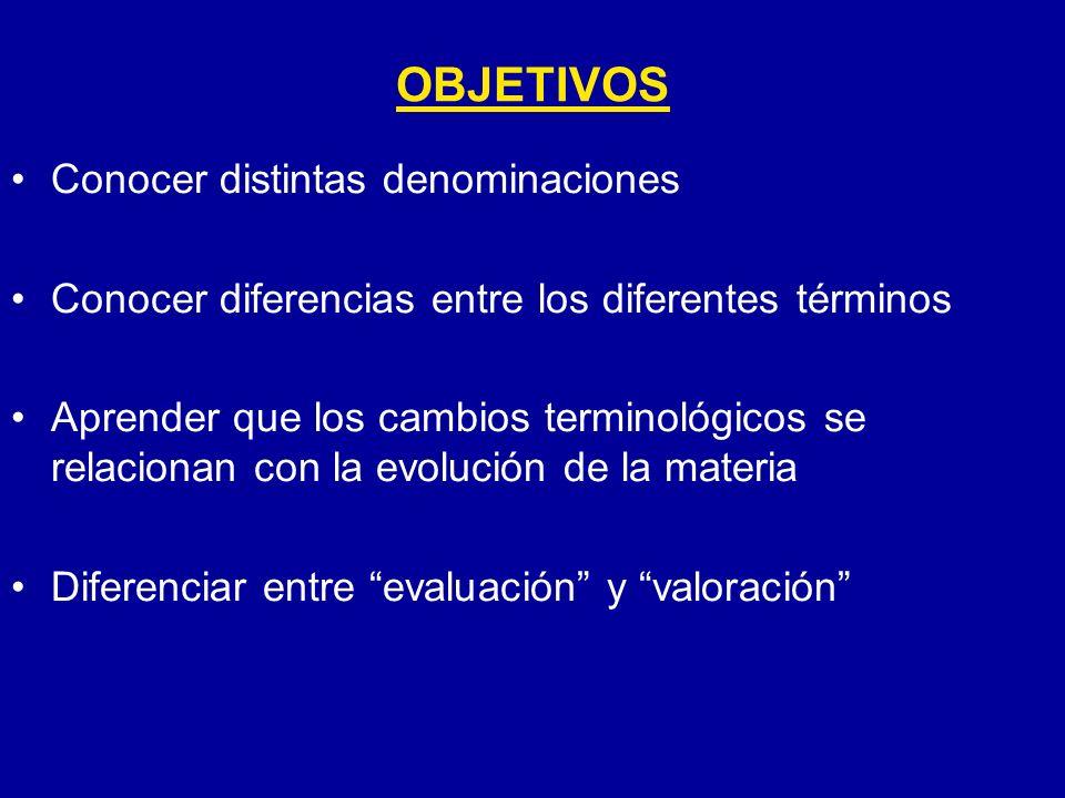 EVOLUCION DEL TERMINO DE E.P. La E.
