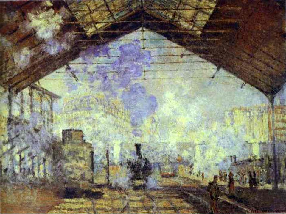 Impresionismo. Monet. La estación de San Lázaro