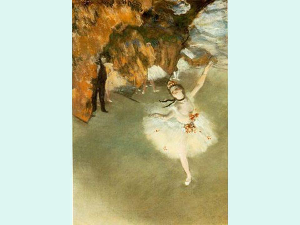 Impresioni smo Degas. Bailarina