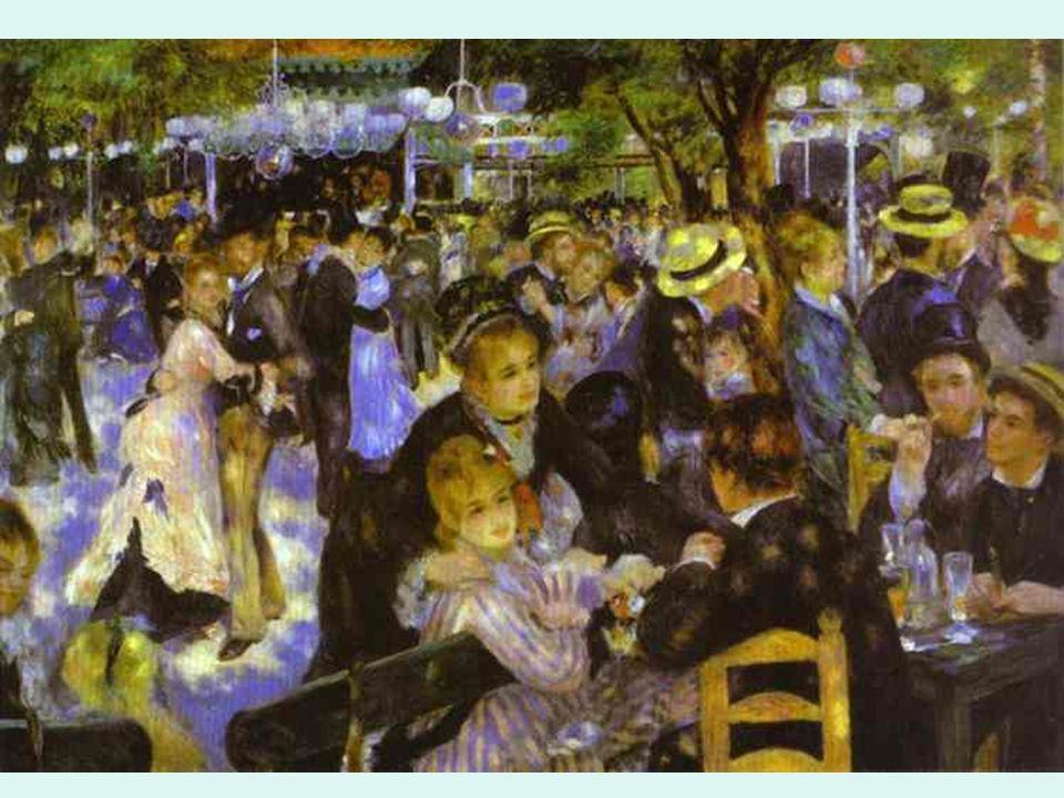 Impresionismo. Renoir. Le Molin de la Galette