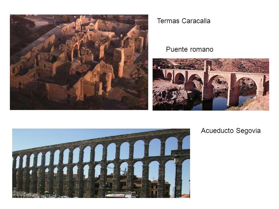 Termas Caracalla Acueducto Segovia Puente romano