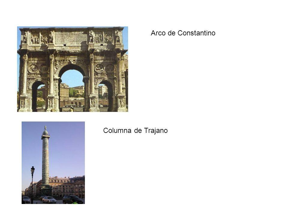 Arco de Constantino Columna de Trajano