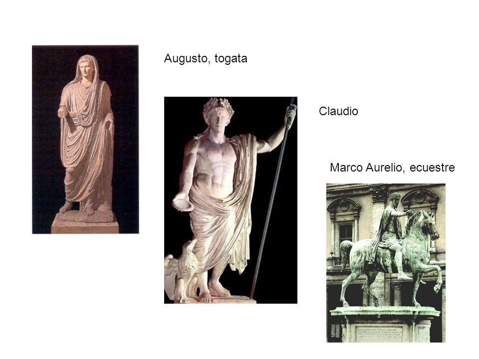 Augusto, togata Claudio Marco Aurelio, ecuestre