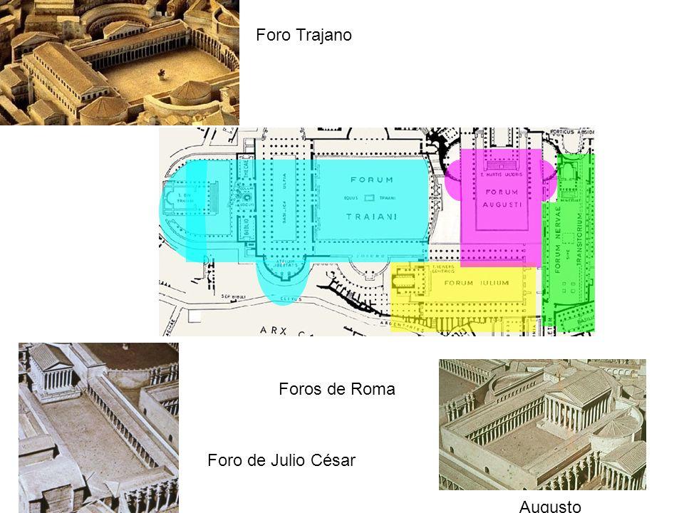 Foros de Roma Foro de Julio César Augusto Foro Trajano