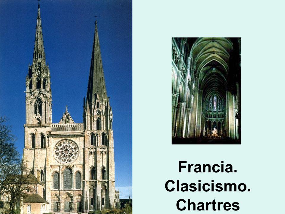 Francia. Clasicismo. Chartres