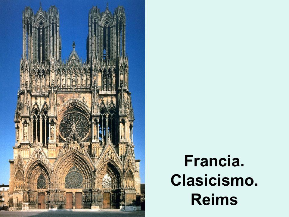 Francia. Clasicismo. Reims