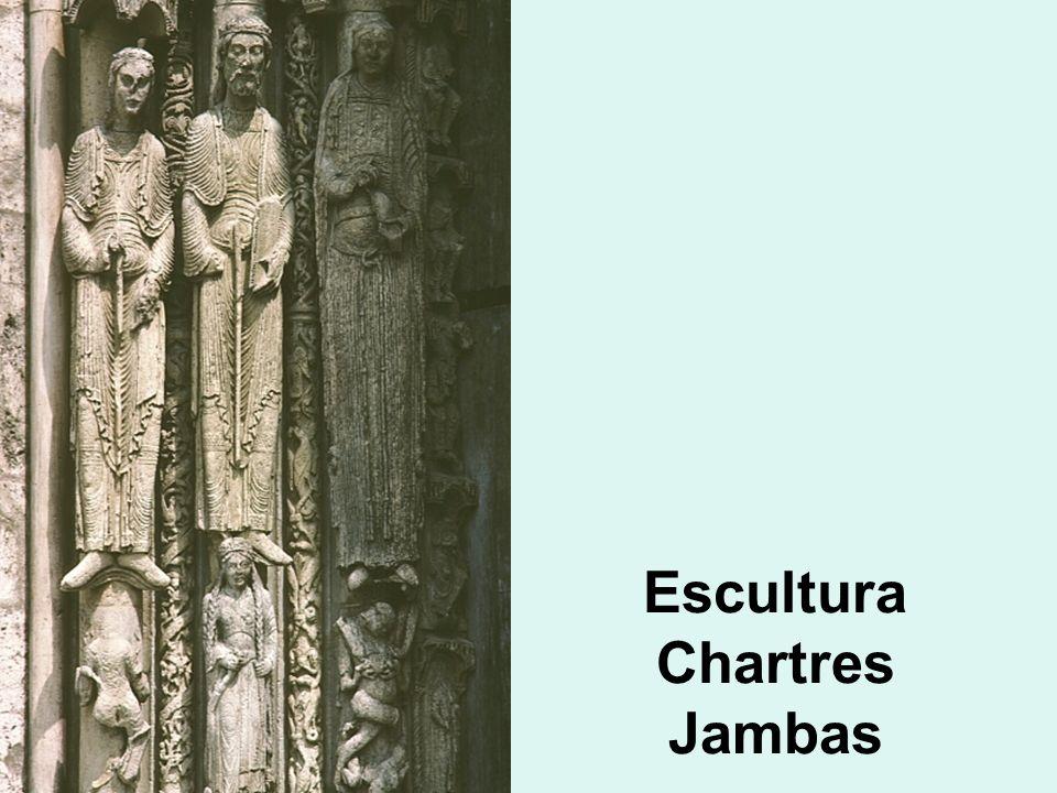 Escultura Chartres Jambas