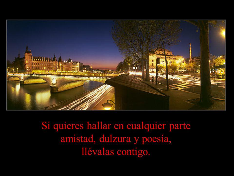 A las personas les interesa nuestro destino exterior; el interior, sólo a nuestro amigo.