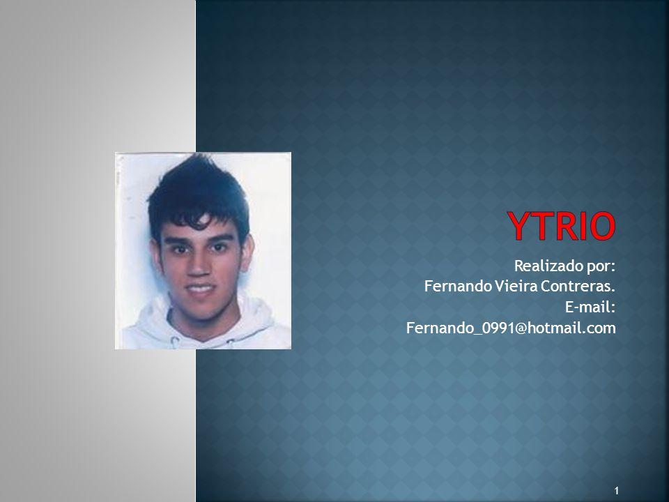 Realizado por: Fernando Vieira Contreras. E-mail: Fernando_0991@hotmail.com 1