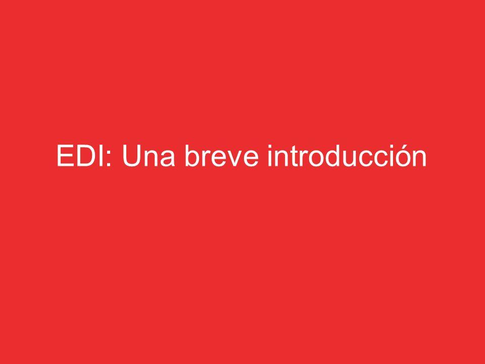 EDI: Una breve introducción