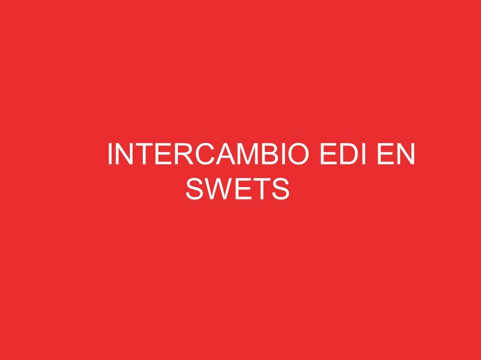 INTERCAMBIO EDI EN SWETS
