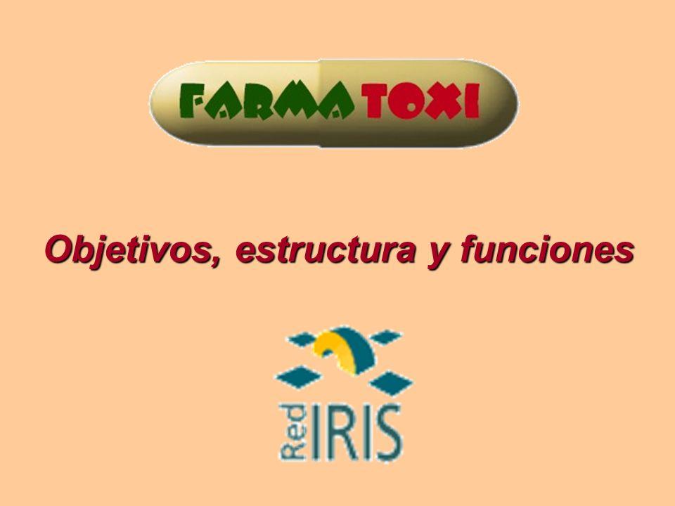 2 Definición FARMATOXI: Red temática o Comunidad Virtual de Usuarios de Farmacología y Toxicología.