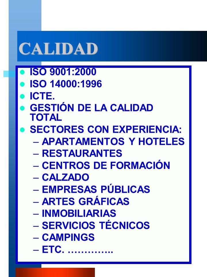 VM-PIR3 CALIDAD ISO 9001:2000 ISO 14000:1996 ICTE.