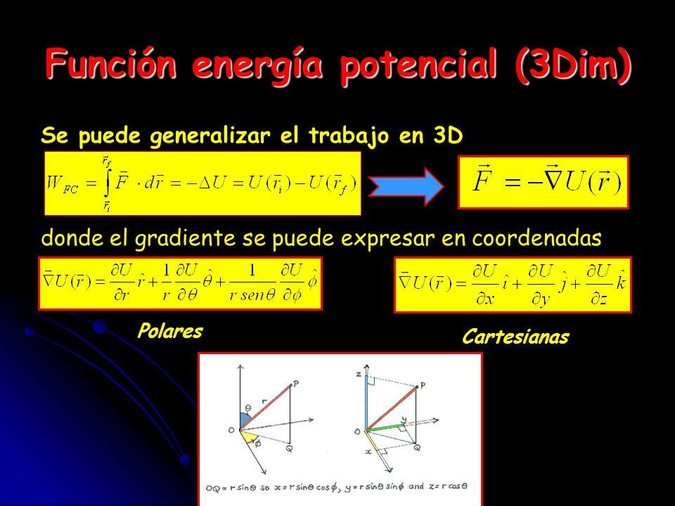 Superficies equipotenciales El potencial es constante en todos sus puntos.