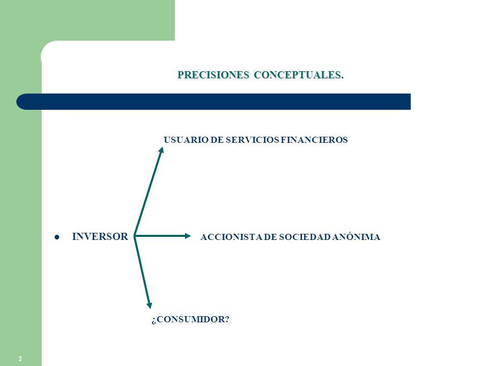 2 PRECISIONES CONCEPTUALES.