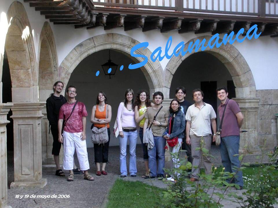 Práctica externa Visita de los alumnos de la asignatura Láser a las instalaciones del grupo de Óptica El fotón charro Universidad de Salamanca En el Hall de la Facultad de Ciencias
