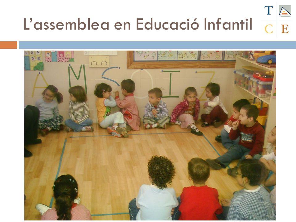 Lassemblea en Educació Infantil