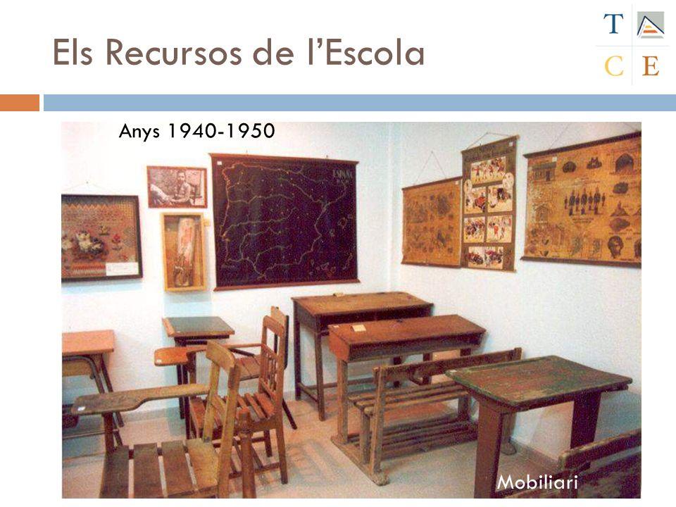 Mobiliari Anys 1940-1950