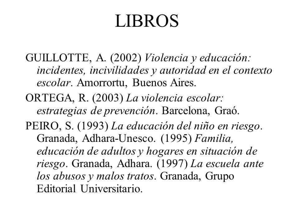 LIBROS GUILLOTTE, A.