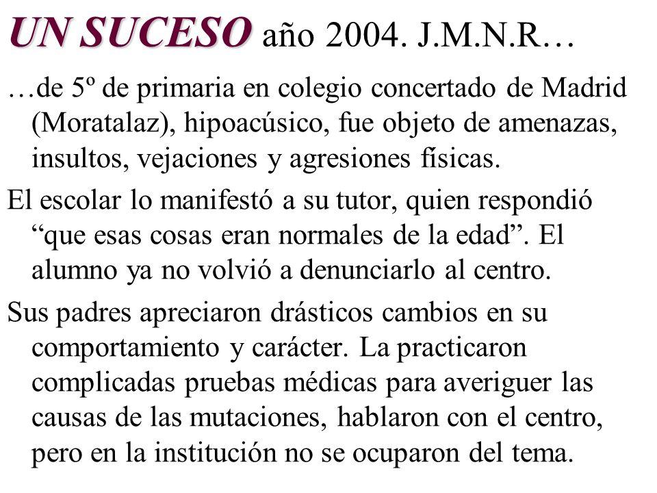 LOS HECHOS EN LAS INSTITUCIONES EDUCATIVAS