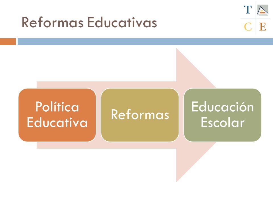 Conceptos Estructura organizada por la sociedad para educar a sus miembros y satisfacer las exigencias de cada sociedad en materia educativa.