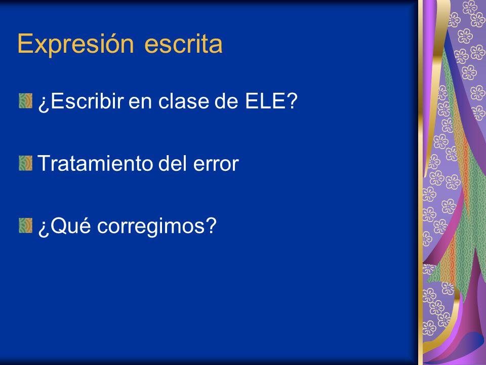 Comprensión escrita -Funciones de la lectura en el aula de ELE: Herramienta de adquisición lingüística Habilidad comunicativa Proceso interactivo