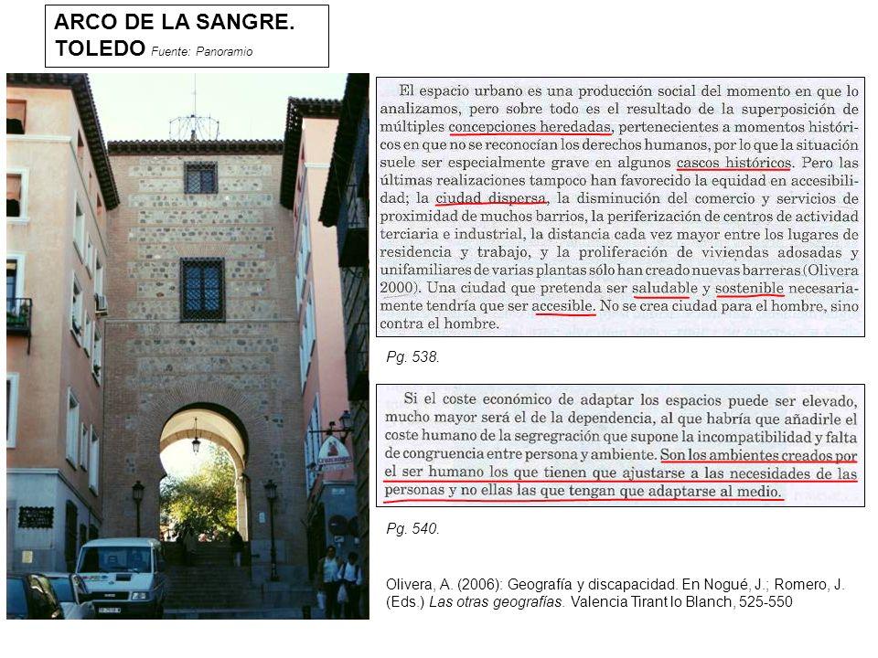 ARCO DE LA SANGRE.TOLEDO Fuente: Panoramio Olivera, A.