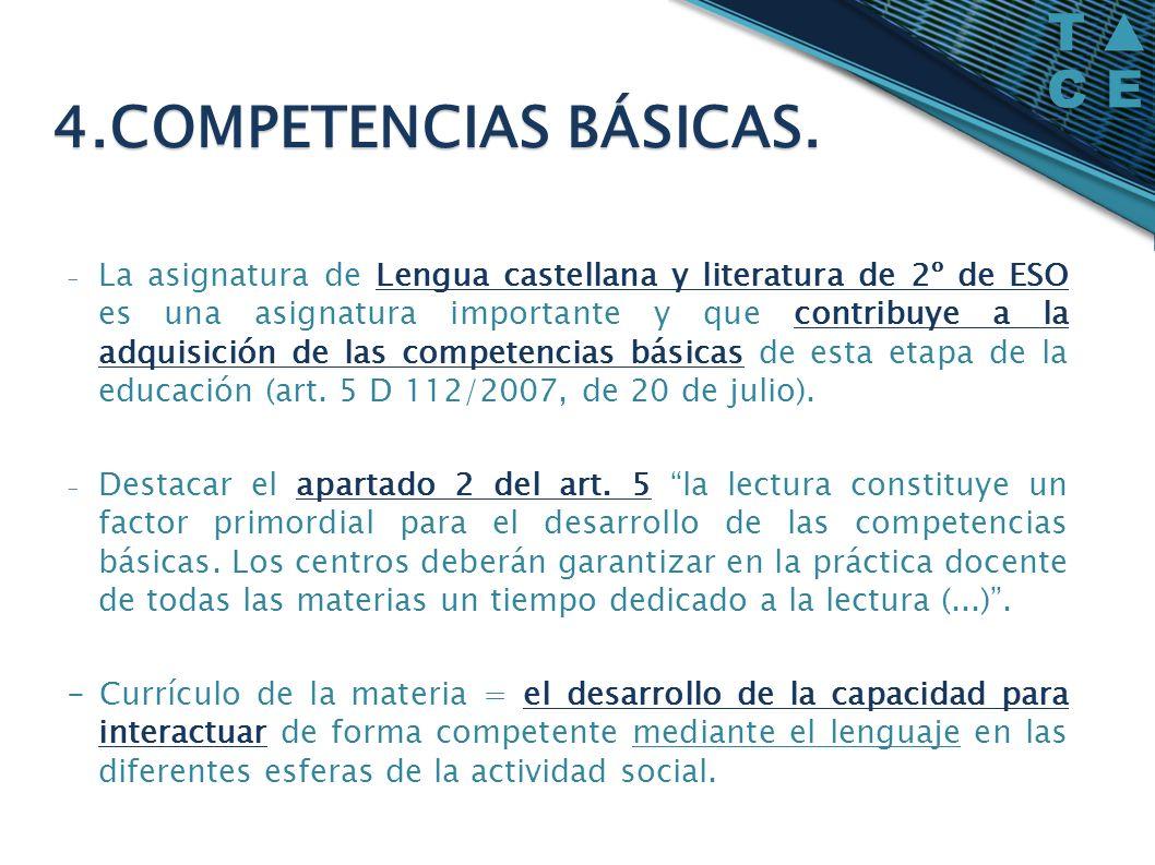 - La asignatura de Lengua castellana y literatura de 2º de ESO es una asignatura importante y que contribuye a la adquisición de las competencias bási