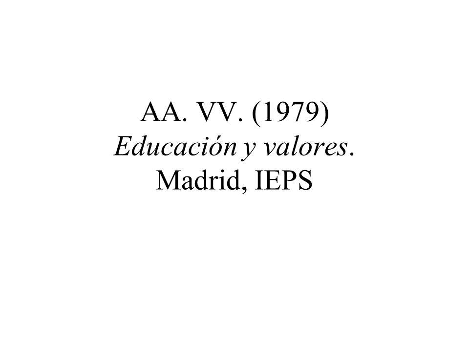 QUINTANA, J.M. (2001) Las creencias y la educación. Barcelona, Herder.