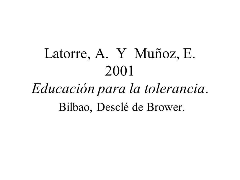 BUXARRAIS, Mª Ròsa (1997) La formación del profesorado en educación en valores. Propuestas y materiales. Bilbao, Desclé de Brower.
