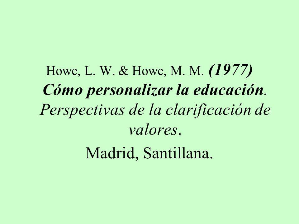 Latorre, A. Y Muñoz, E. 2001 Educación para la tolerancia. Bilbao, Desclé de Brower.