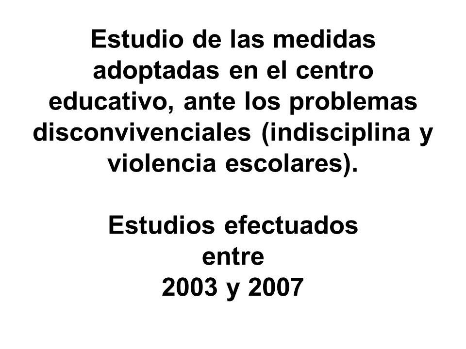 MEDIDAS TOMADAS EN EL IES