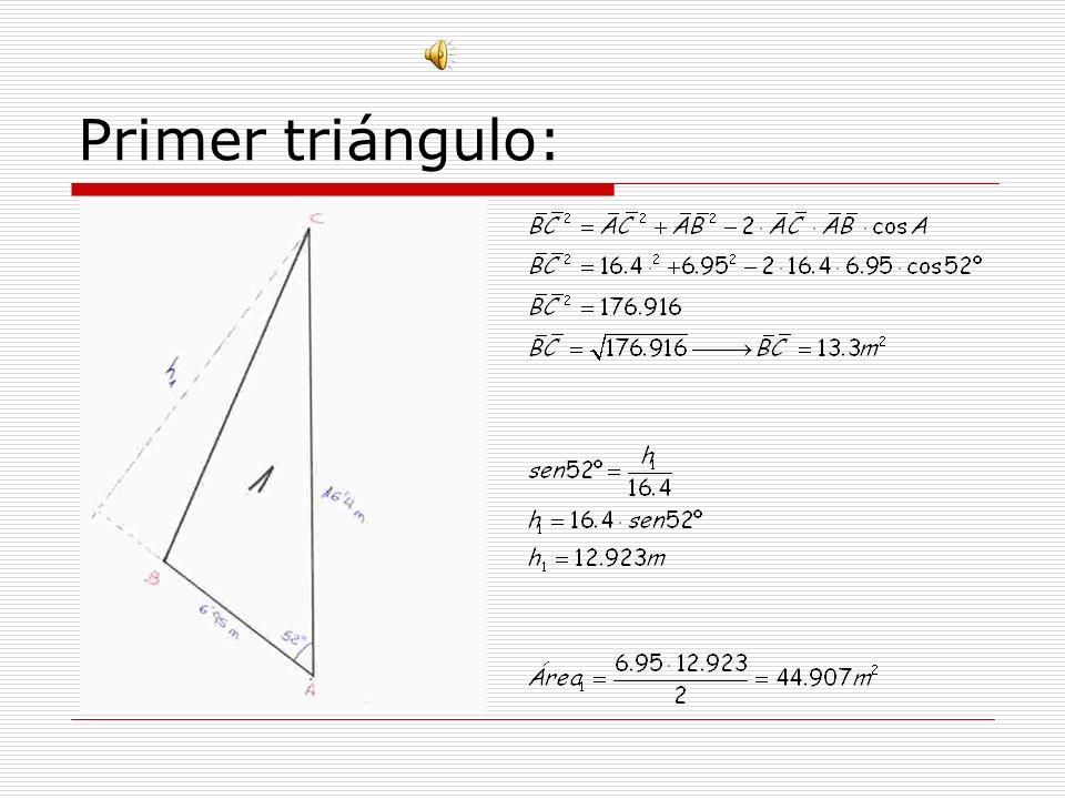Primer triángulo: