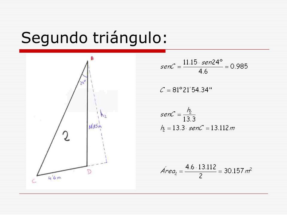 Segundo triángulo: