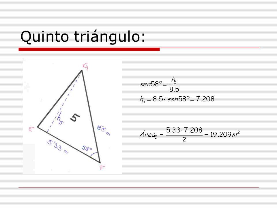 Quinto triángulo: