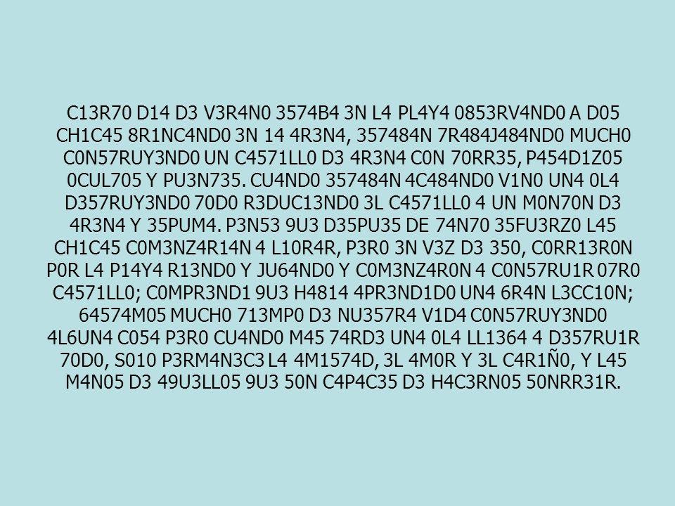 C13R70 D14 D3 V3R4N0 3574B4 3N L4 PL4Y4 0853RV4ND0 A D05 CH1C45 8R1NC4ND0 3N 14 4R3N4, 357484N 7R484J484ND0 MUCH0 C0N57RUY3ND0 UN C4571LL0 D3 4R3N4 C0