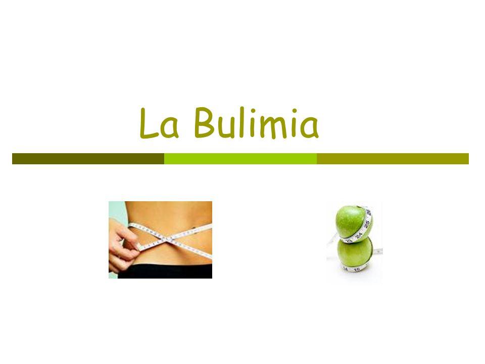 ¿Qué es la bulimia.La bulimia es un trastorno mental relacionado con la comida.