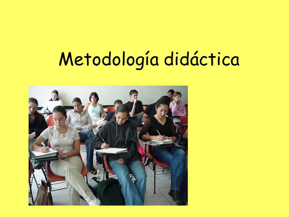 Metodología didáctica