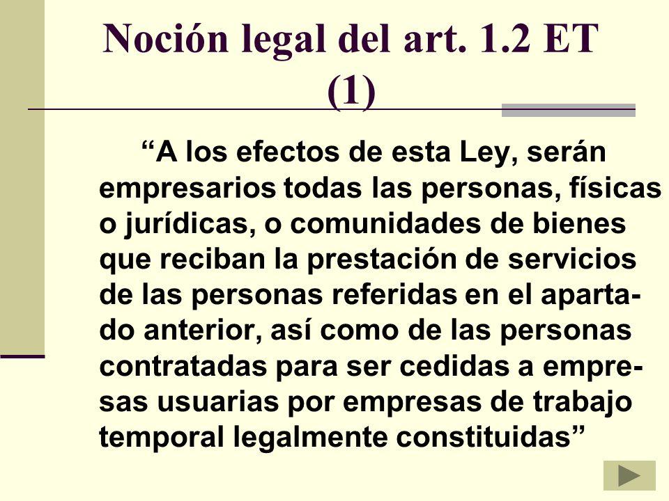 Noción legal del art.
