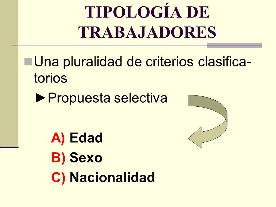 Edad y contrato de trabajo Un posible criterio discriminatorioPrevisiones constitucionales legales (art.