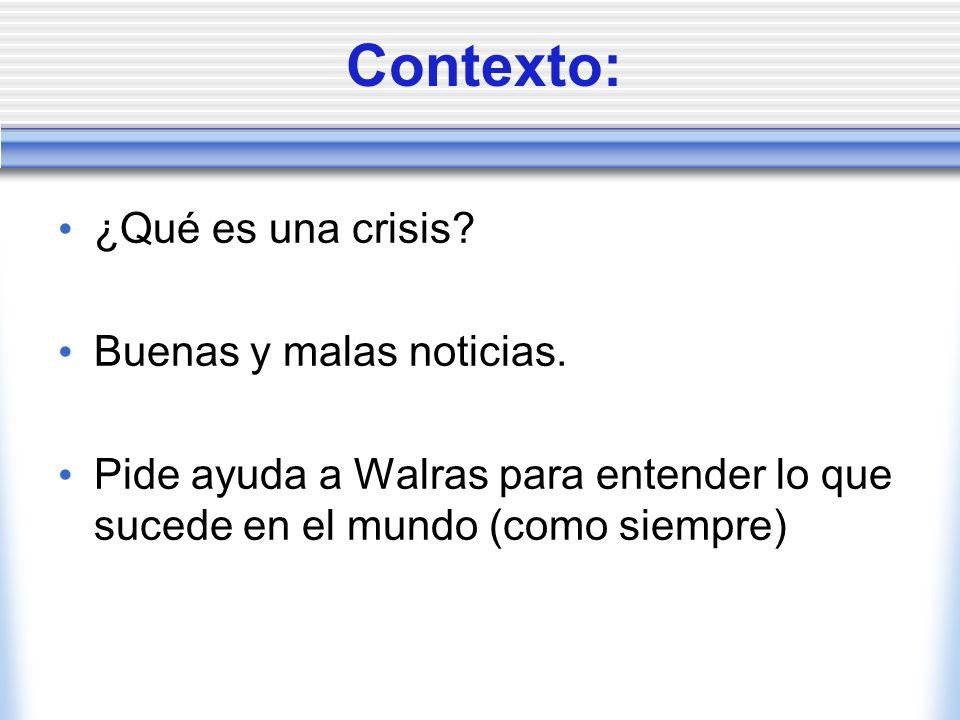 Crisis, Depresiones y Equilibrio General Manuel J García Santana CEMFI (Banco de España)