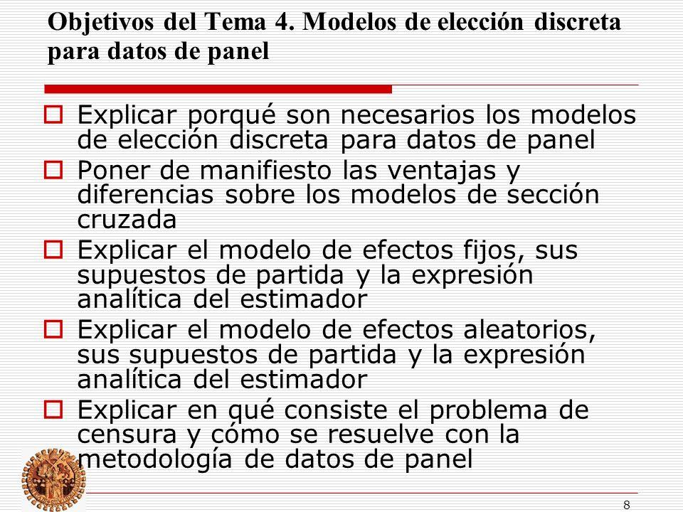 8 Objetivos del Tema 4.