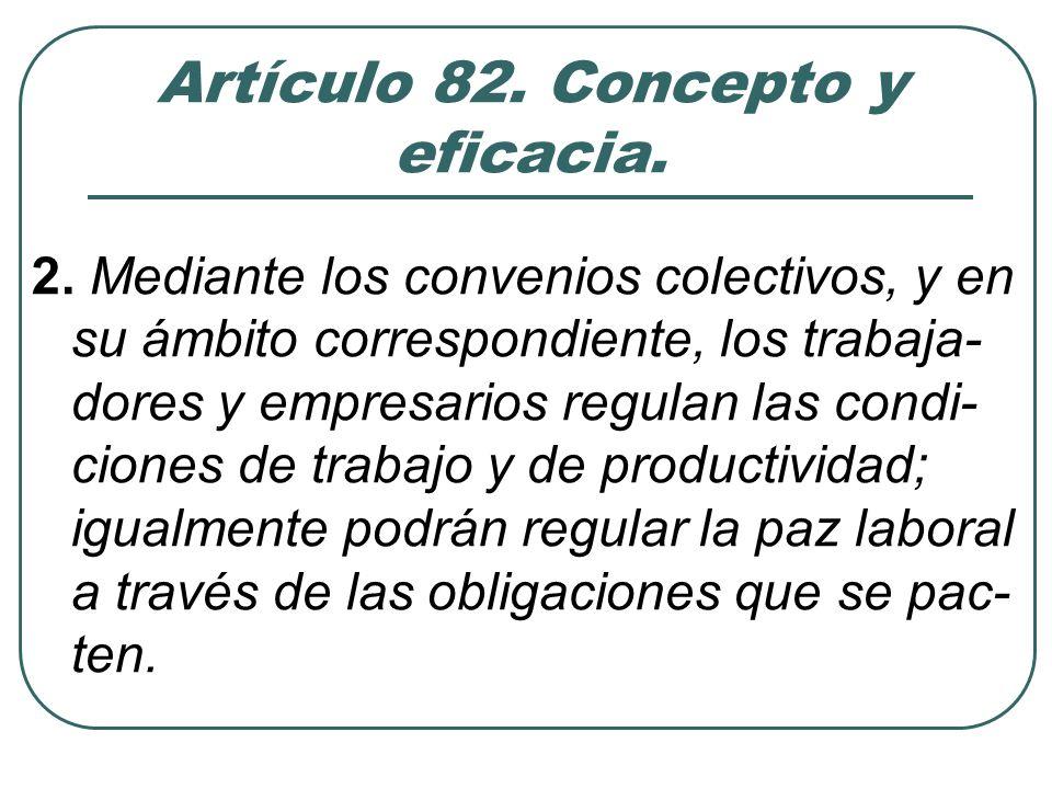 Propuesta de definición «Acuerdo escrito entre una repre- sentación de trabajadores y un em- presario o una representación em- presarial para la regulación de las condiciones de empleo y trabajo, así como de las relaciones laborales en un determinado ámbito»