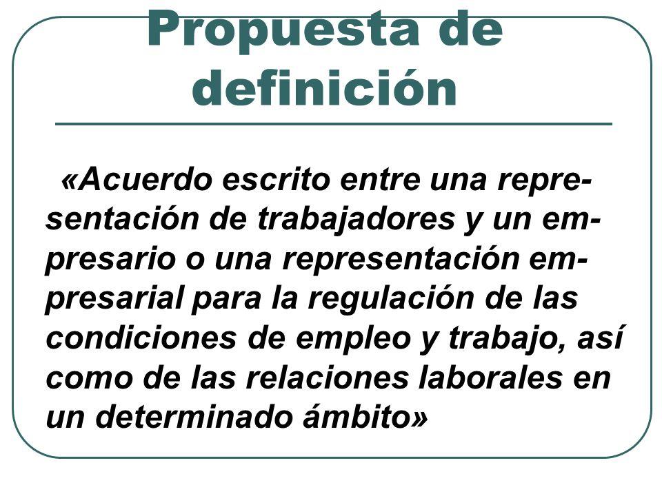 Naturaleza y eficacia (1) ¿Es el convenio colectivo un tipo de contrato.