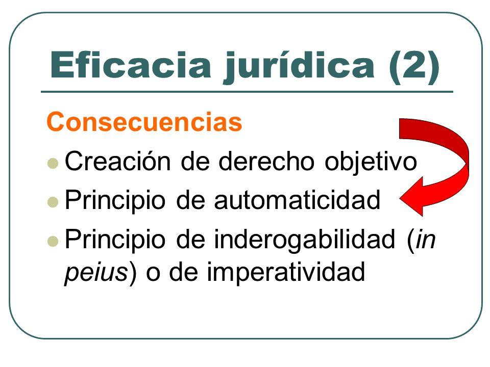 Conclusión (Derecho español) Los convenios estatutarios poseen efica- cia personal general y eficacia norma- tiva (arts.