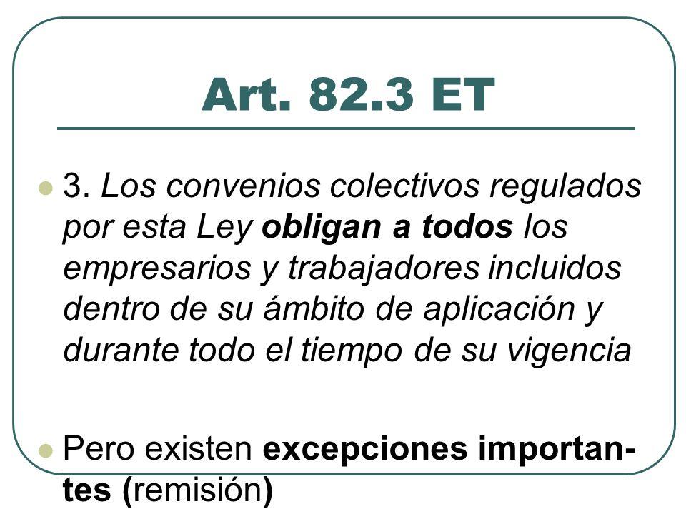 TIPOLOGÍA DE CONVENIOS (1) A) Por su eficacia personal Convenios de eficacia general Convenios de eficacia limitada