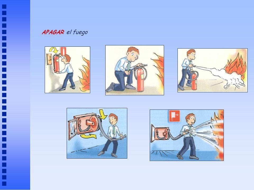 APAGAR el fuego